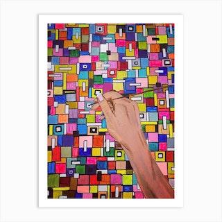Square Spaces Art Print