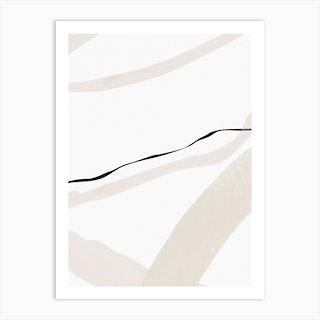 Minimal Space 01 Art Print