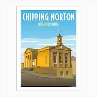 Chipping Norton Town Hall Art Print
