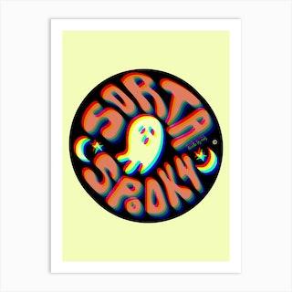 Sorta Spooky 3d Art Print