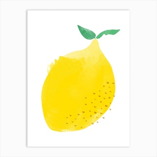 Another Lemon Art Print