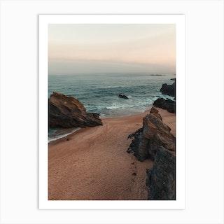 Morning Beach Ii Art Print