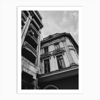 Bucharest Street Vibes Ii Art Print