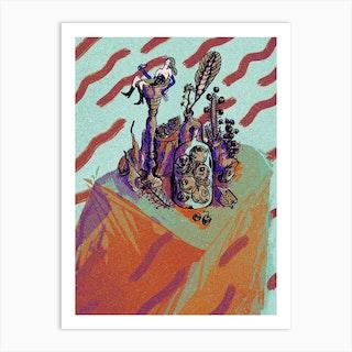 Bath Dusk Art Print