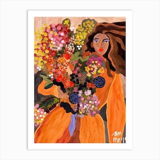 Autumnal Spring Art Print