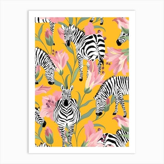 Striped For Life Art Print