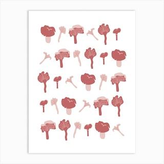 Chanterelle (Wild Meadow) Art Print