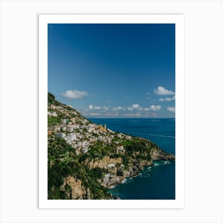 Praiano Italy II Art Print