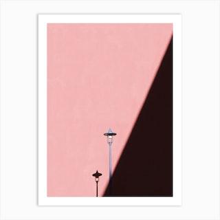 Light And Line Art Print