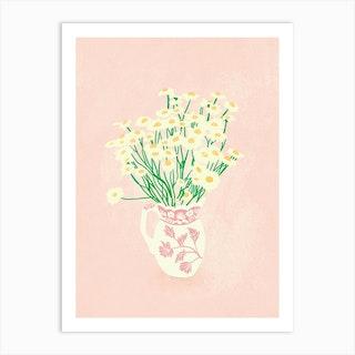 Granny Jar Art Print