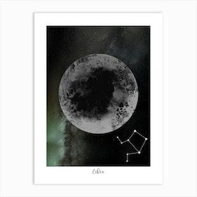 Zodiac Libra Art Print