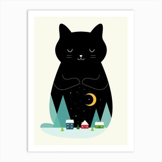 Silent Night Art Print