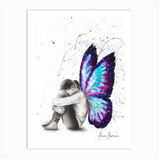 Butterfly Dreaming Art Print