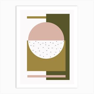 Pink Dome Art Print