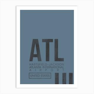 Atl Code Art Print