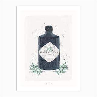 Gin Lover Art Print
