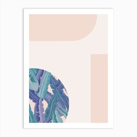 Mid Century Candy Tropical Pt 01 Jpg Art Print