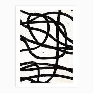Scandinavian Marker Line 3 Art Print