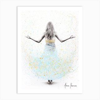 Morning Balance Art Print