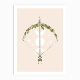 Bow And Arrow Art Print