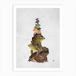 Toadstool Wordless Art Print