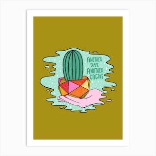 Another Cactus Art Print