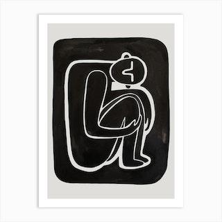 People From The Origin 1 Art Print
