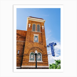 16th Street Baptist Church Art Print