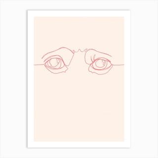 Pretty Please Art Print