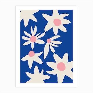 Blue Garden Art Print