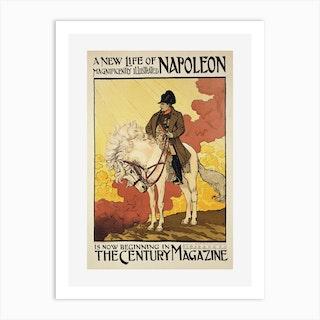 A New Life Of Napoleon Art Print