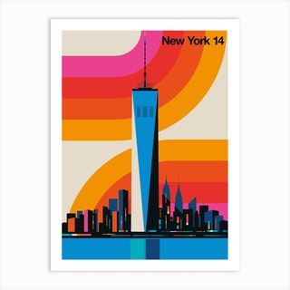 New York 14 Art Print