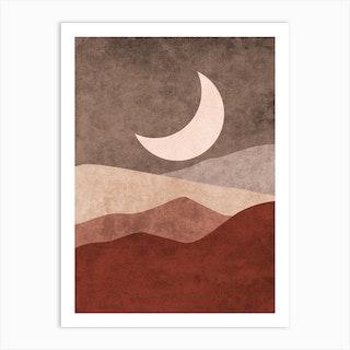 Moonlight Meditations Art Print