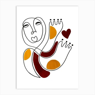 Self Love 2 Art Print
