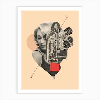 Camgirl Art Print