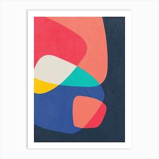 Corner Art Print