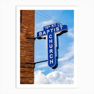 16th Street Baptist Church II Art Print
