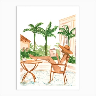Vacation Mode I Art Print