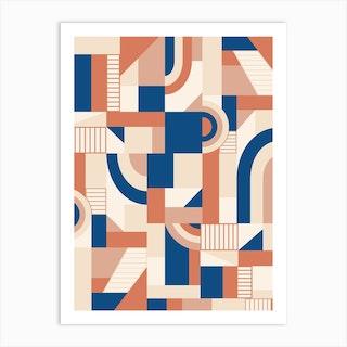 Bold Blocks Art Print