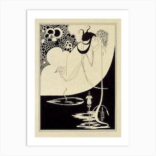 The Climax, Aubrey Beardsley Art Print