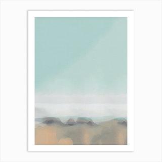 Soft Landscape II Art Print