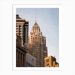 Manhattan Architecture Art Print