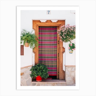 Summer Door 2 Art Print