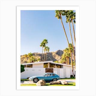 Palm Springs Ride VII Art Print