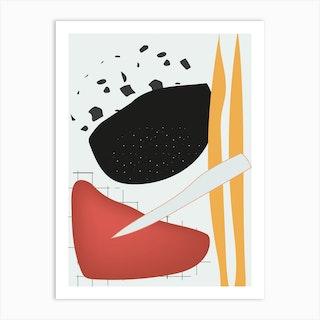Trouble Sleep 16 Art Print