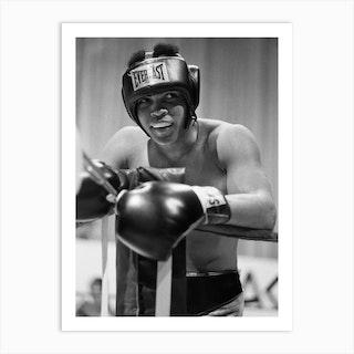 Muhammad Ali Training At Caesars Palace 1973 1 Art Print