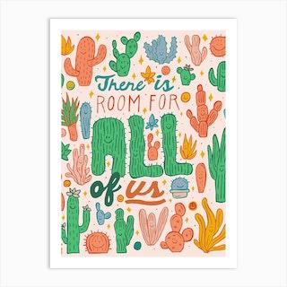 Room For All Art Print