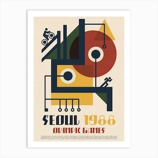1988 Olympics Seoul Art Print