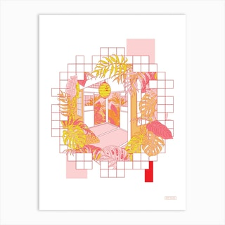 Tatami Art Print