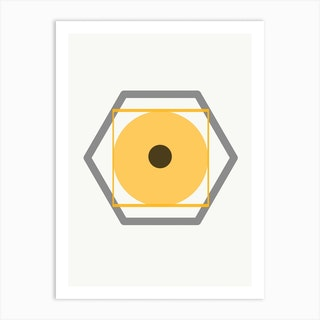Yellow Eye Art Print